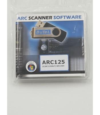 ARC125 Windows software voor UBC125XLT