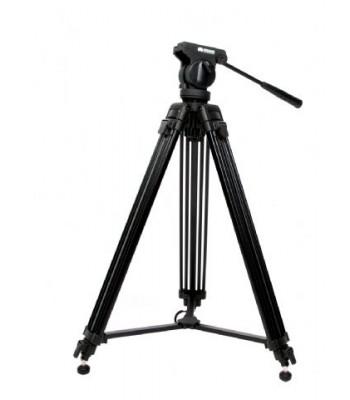 Braun professioneel video statief met vloeistofgedempte kop