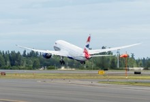 Boeing levert eerste Boeing 787 Dreamliner aan British Airways