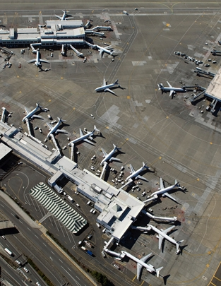 Aerials of Sea-Tac Airport, September 10, 2007.