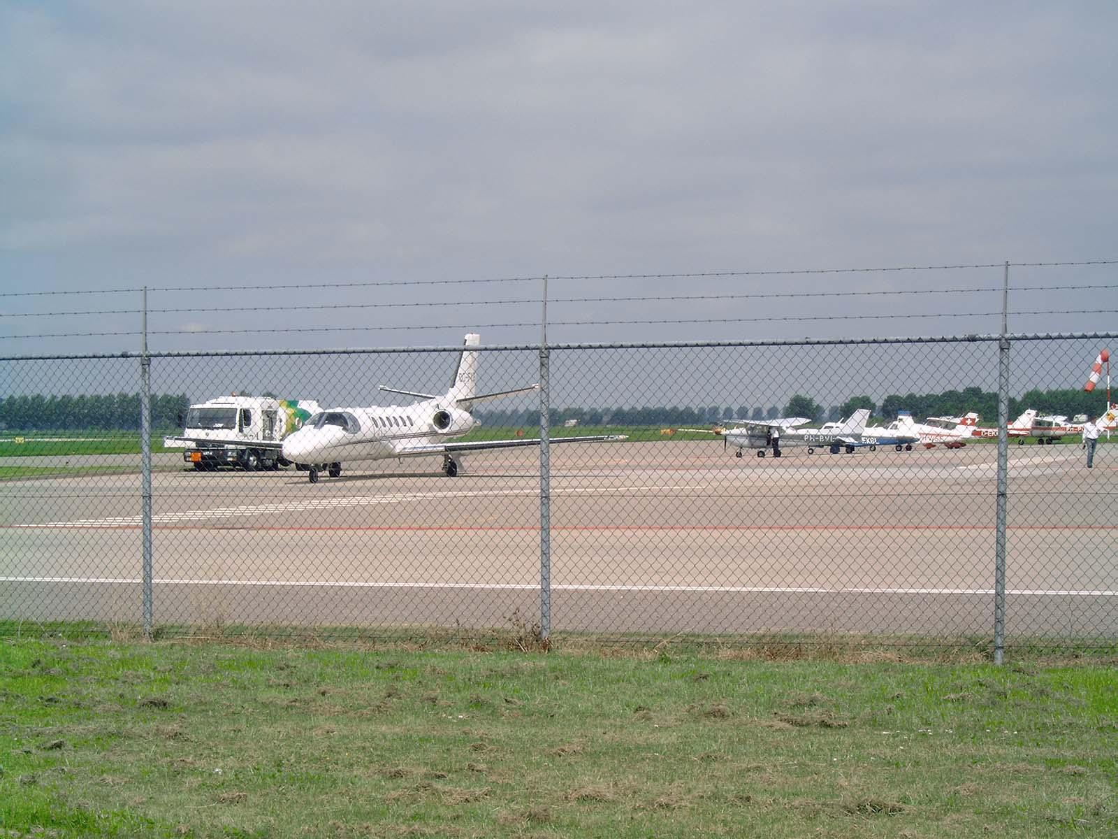 nieuwe luchthaven lelystad
