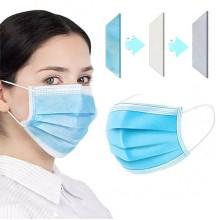 YJC301HD - FFP2 Wegwerp mond- en neusmasker / 50-stuks