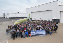 Cessna viert eerste geproduceerde Citation Latitude